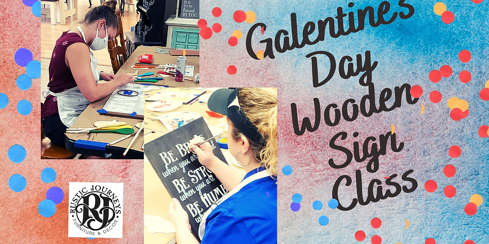 Galentine's at Rustic Journeys