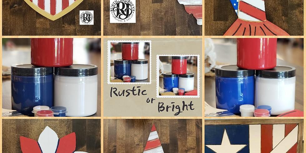 Rustic Journeys Patriotic Project Kits