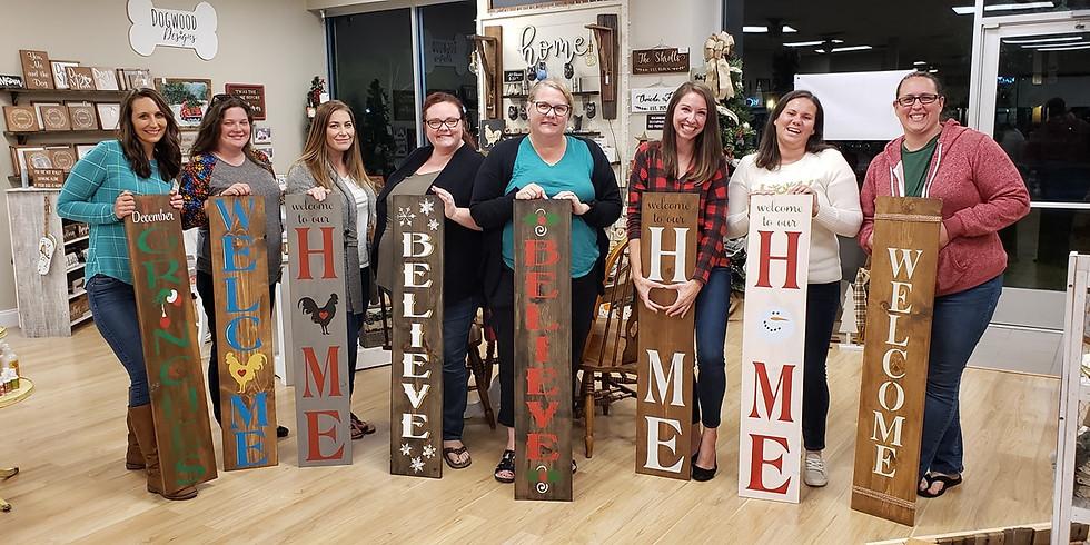 Porch Leaner Signs  - Dec. 10