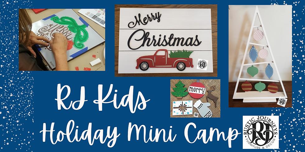 RJ Kids - Holiday Mini Camp