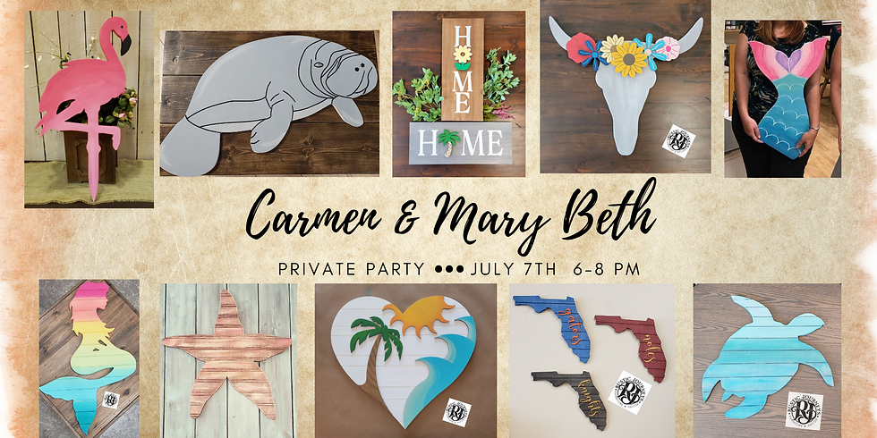 Carmen & Mary Beth's Private Party