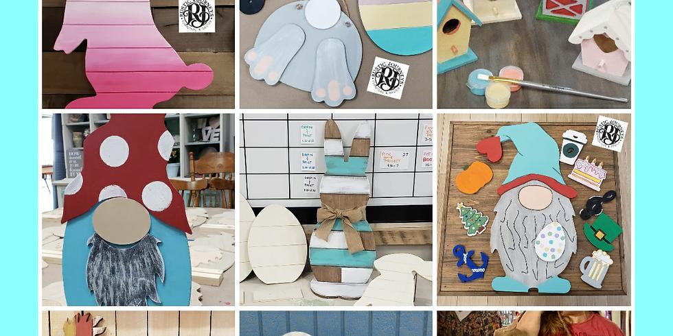 RJ Take Home Project Kits: Kids, Teens, Adults - Family Fun!