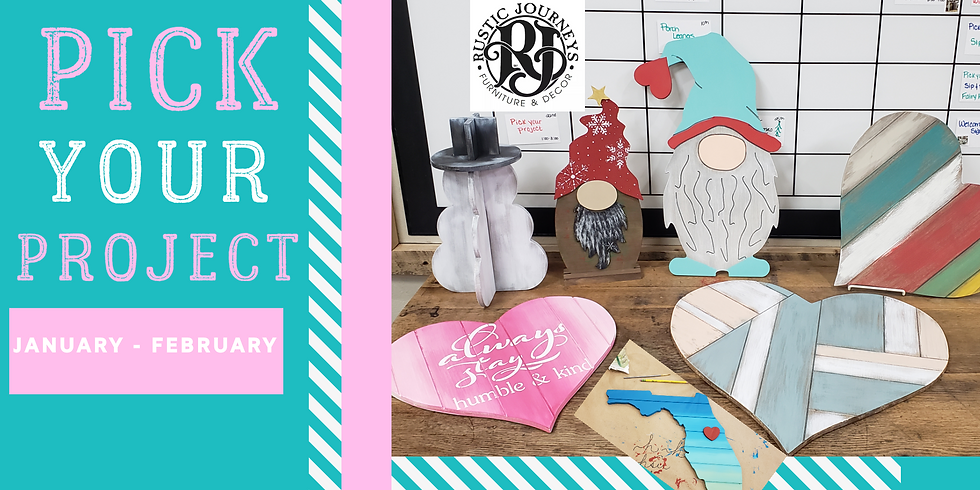 Wild Card Wednesday - Jan 22 Pick Your Project