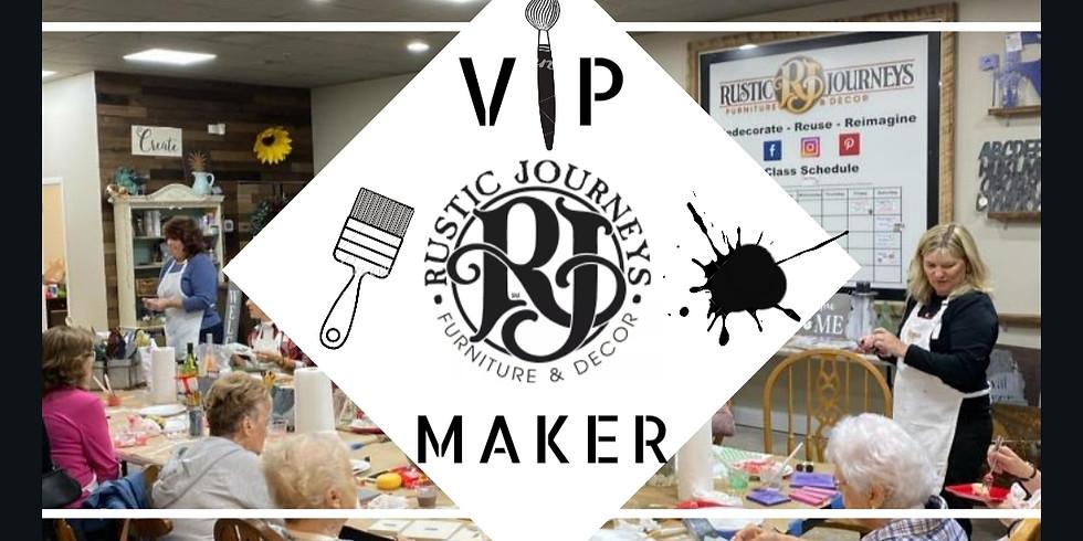 Rustic Journeys VIP Makers 3-Class Pass