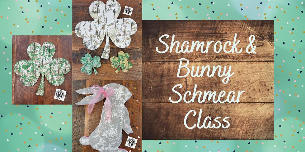 Rustic Shamrock Schmear - March 6
