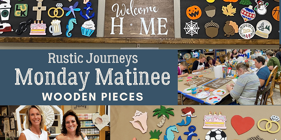 Monday Matinee - Painting Interchangeable Shapes 2/24