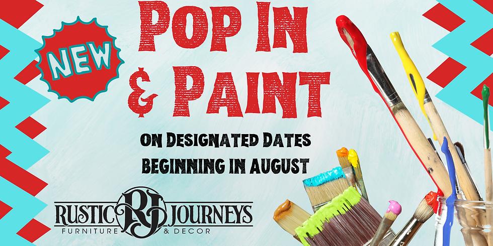 Pop In & Paint - Aug 7