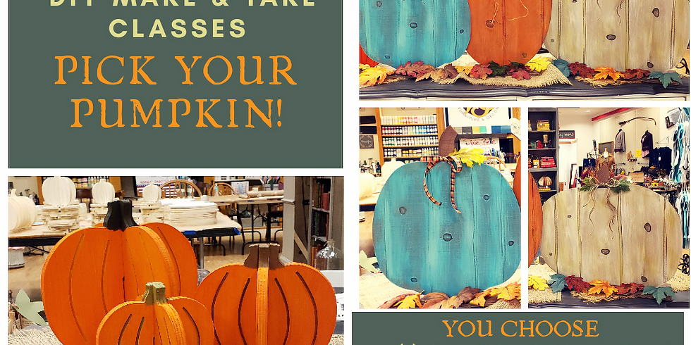 Pick Your Pumpkin Project - Oct. 11 - Friday