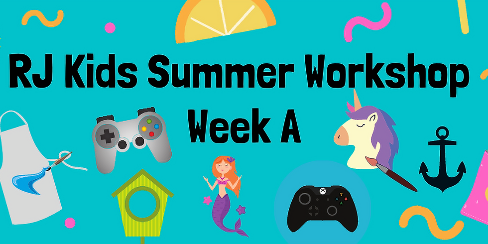 RJ Kids Summer Week A - June 28 - July 1