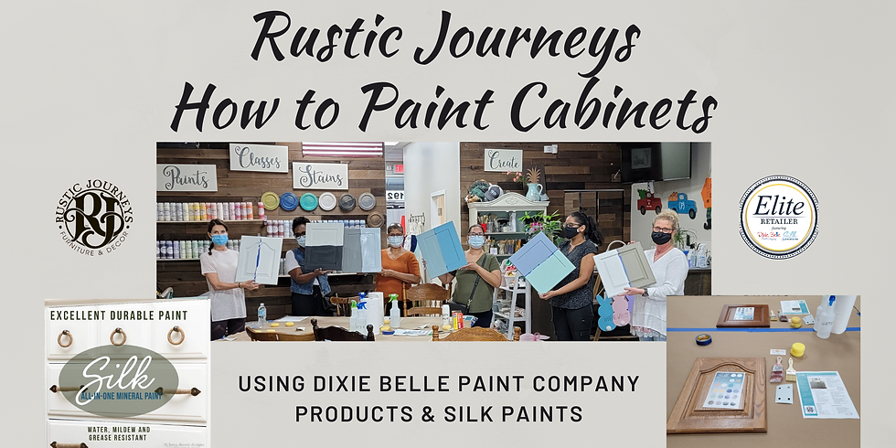 How to Paint Cabinets - Sept. 12