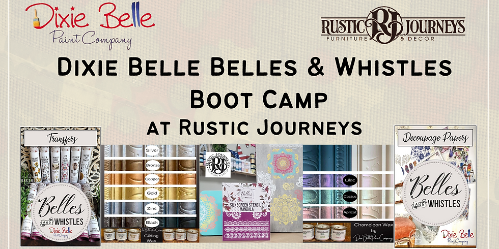 Dixie Belle Belles & Whistles Boot Camp by Rustic Journeys