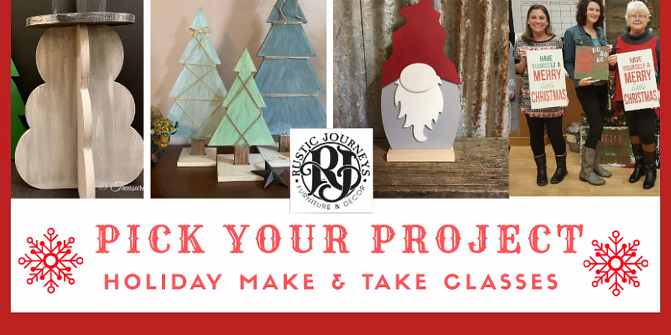 Pick Your Holiday Project 12/22 Sun
