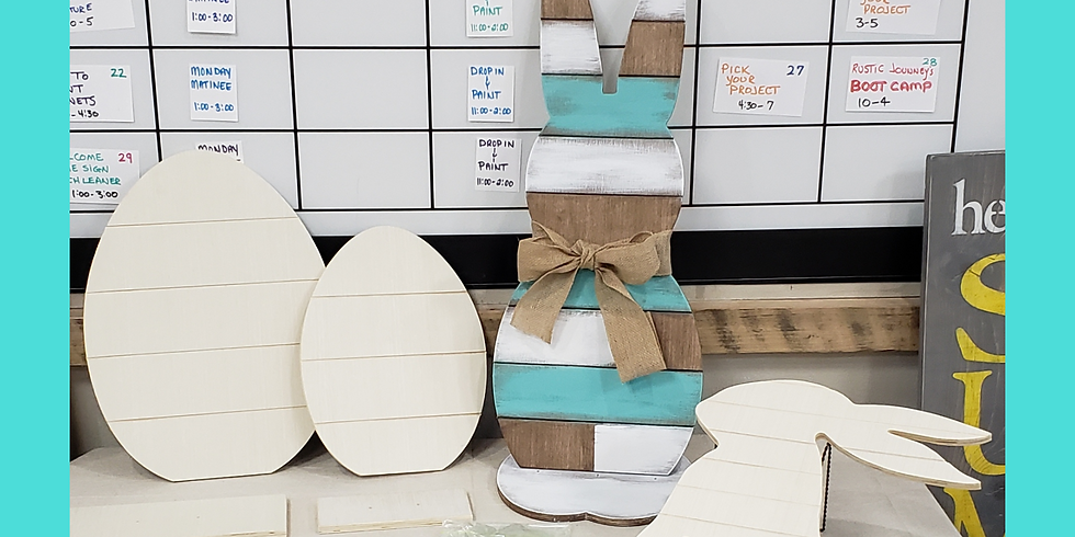 Take Home Spring Project Kits - Bunnies & Eggs