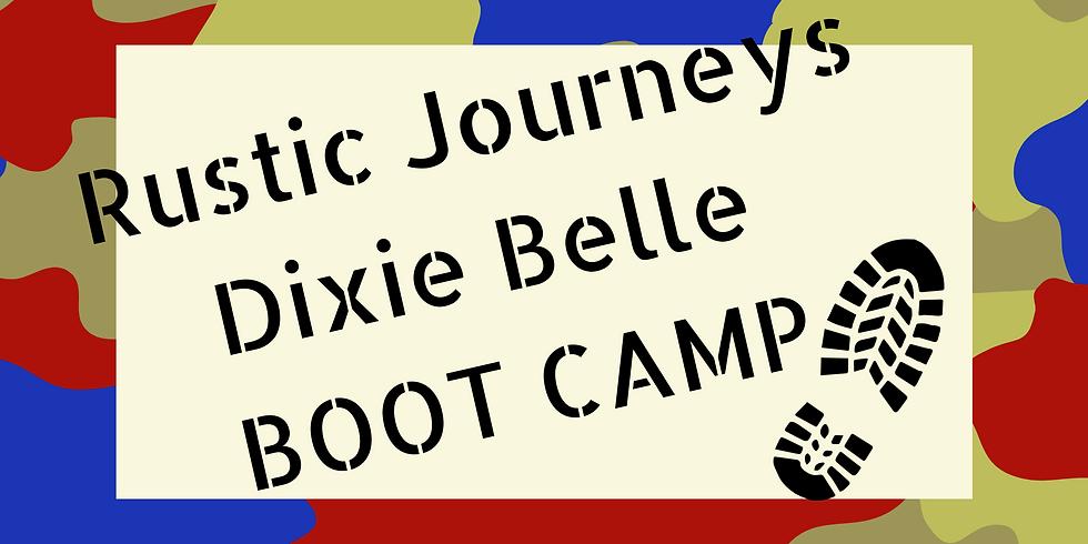 Rustic Journeys - Dixie Belle - BOOT CAMP  11/27
