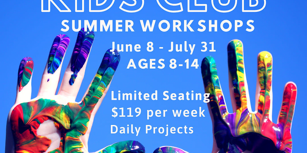 RJ Kids Club LEVEL 2: Aug 3-6 Additional Openings