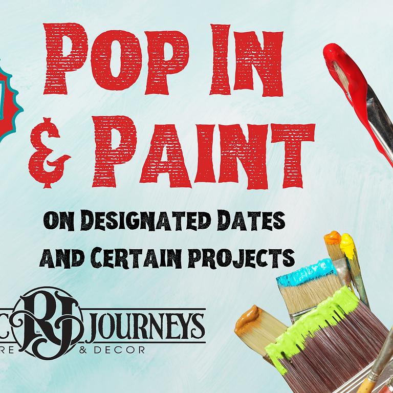 Pop In & Paint - Oct. 30