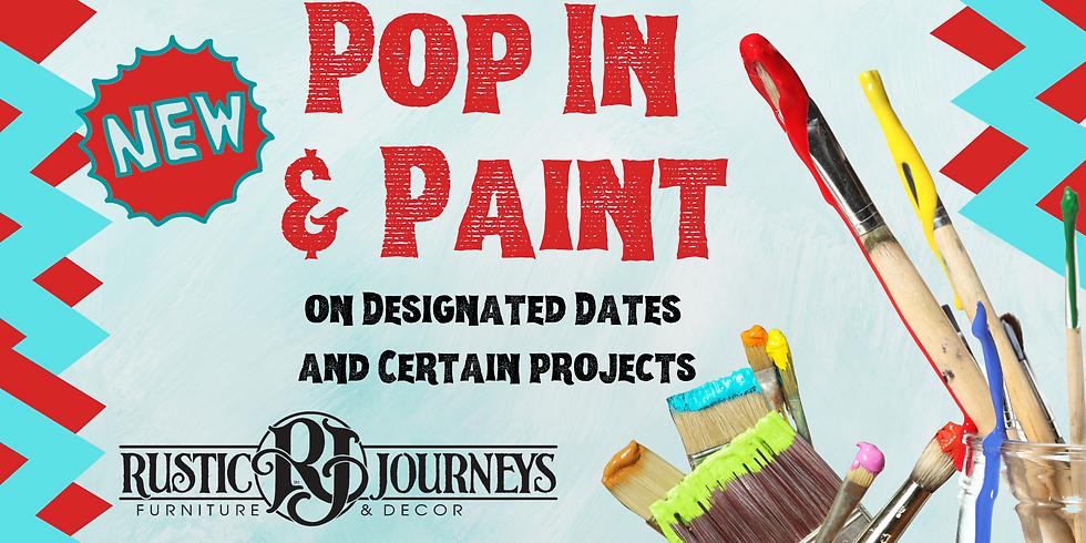 Pop In & Paint - Oct. 6