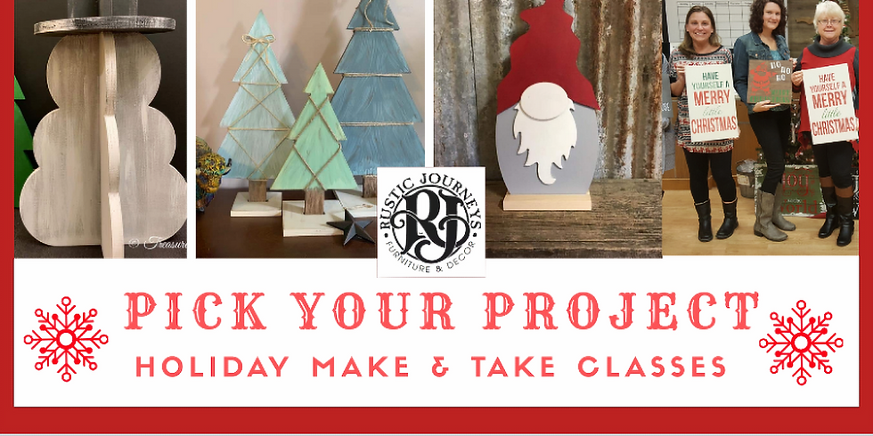 PRIVATE: Bethany's Group - Pick Your Holiday Project