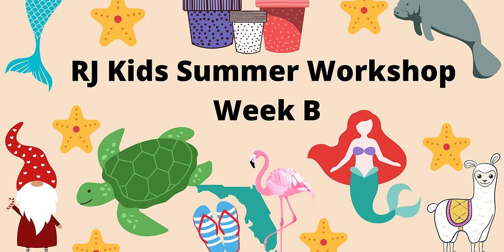 RJ Kids Summer Week B - June 14-17