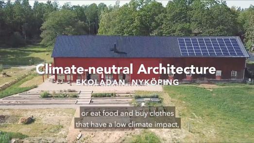 Filmproduktion klimatneutral arkitektur - White arkitekter