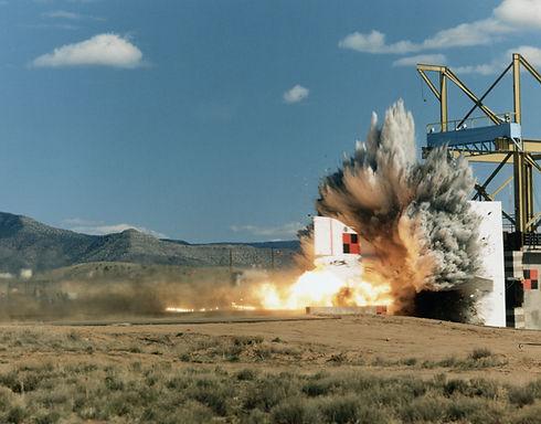Movie Set Explosion