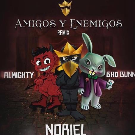 """""""Amigos y Enemigos Remix"""" de Noriel, Bad Bunny y Almighty [Video Oficial]"""