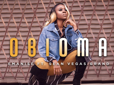 "introducing afrobeats new upcoming artist emanise & her single ""obioma"""