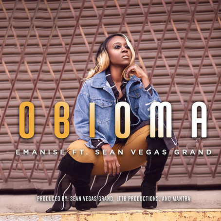 """introducing afrobeats new upcoming artist emanise & her single """"obioma"""""""