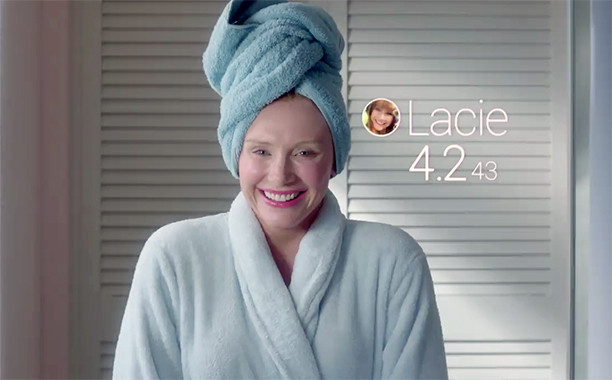 Black Mirror's Lacie living life by 'likes'