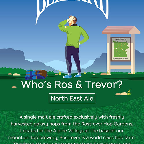 Carton of Who's Ros & Trevor North East Ale