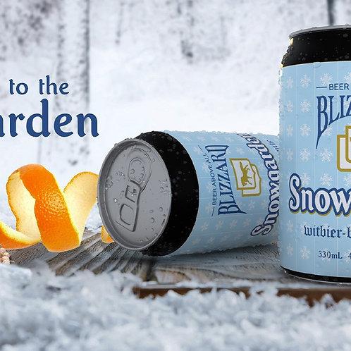Carton of Snowgarden Witbier - Bierre Blanche