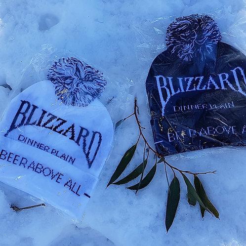 Pom Pom Blizzard Beer Above All Beanie