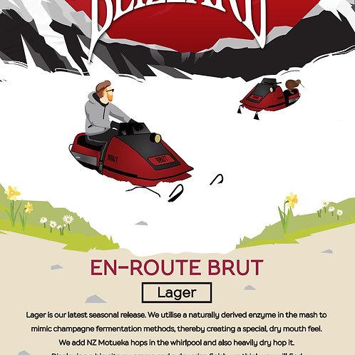 Carton of En-Route Brut Lager