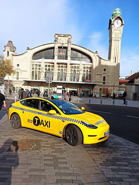 Taxi Rouen # Eco # Gare.jpg