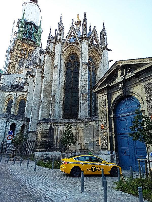 Taxi Rouen # Eco # Taxi rouen Cathédrale