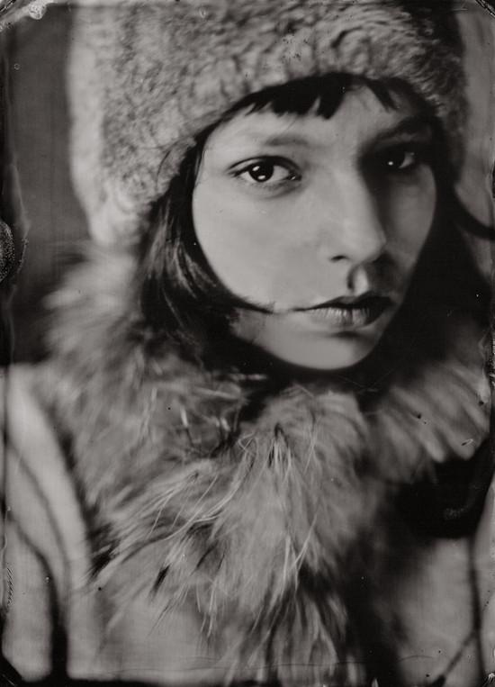 portrait au collodion