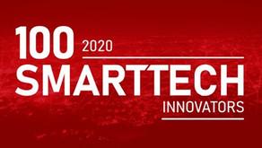 100 Smart Tech Innovators nationwide award - shortlisted...