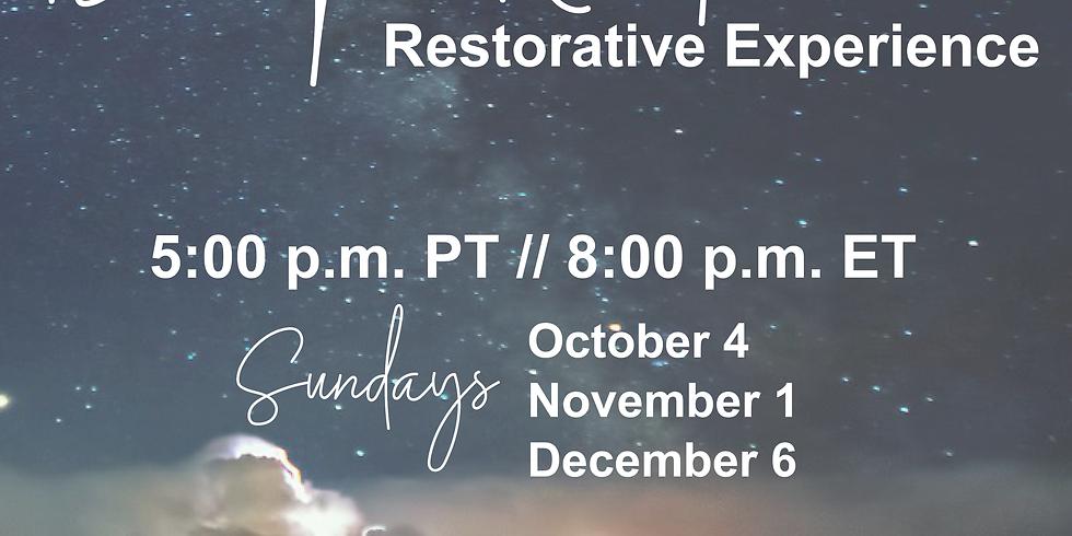 Deep Rest: A Restorative Experience