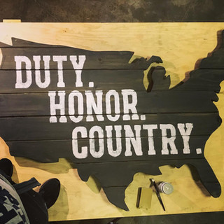 Duty.Honor.Country.