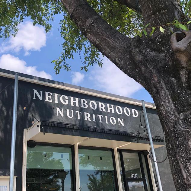 Neighborhood Nutrition