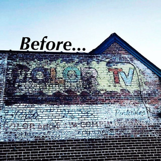Ghost Sign in Edgewood