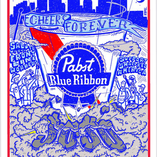 Can art contest submission for Pabst Blue Ribbon