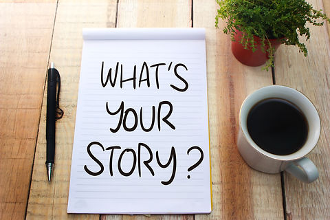 What's your Story. Motivational inspirat