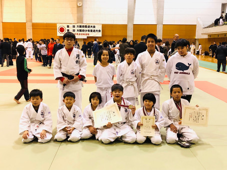 大阪府少年柔道大会