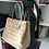 Thumbnail: Christian Dior Coated Canvas Cannage Quilted Medium Panarea Tote