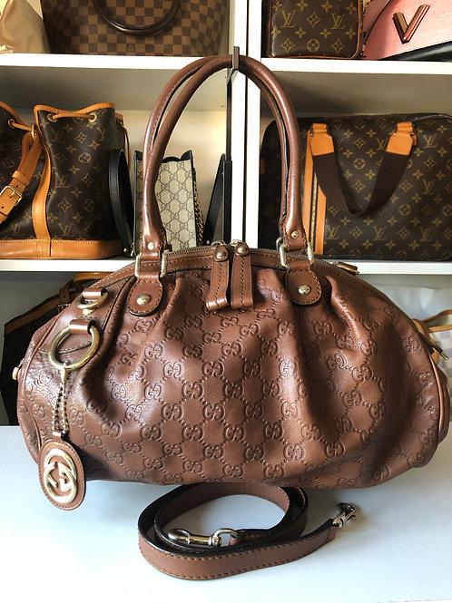 Gucci Guccissima Leather Sukey Boston