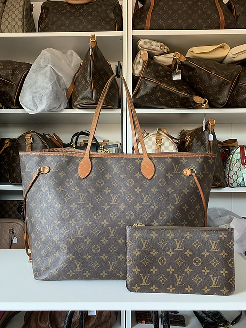 Louis Vuitton Neverfull GM with Pouch