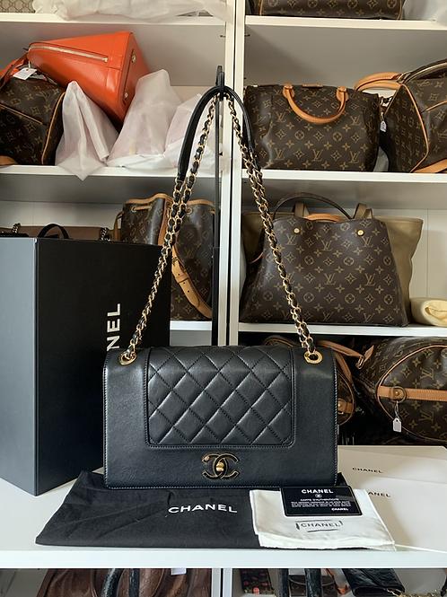 Chanel Mademoiselle Enamel Flap Bag