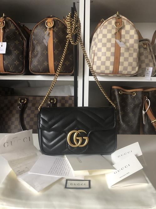Gucci GG Marmont Matelasse Supermini
