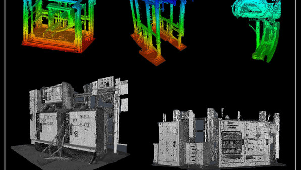 PMC provides highly accurate scan data to create precise 3D models. Using industry standard software including Inventor, Revit, or AutoCAD. Shown here is several examples of facility equipment being modeled using laser scanning data.